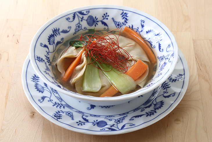 糖質制限 水餃子スープ